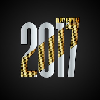 Nieuw jaar als achtergrond