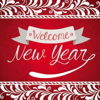 Nieuw jaar ontwerp