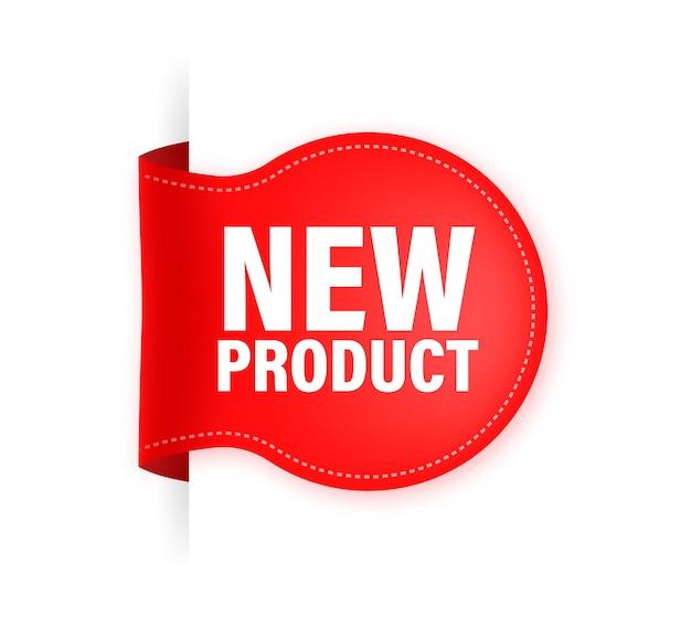 Nieuw product. realistisch etiket