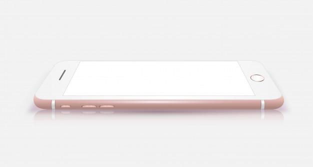Nieuw realistisch iphone-stijlmodel voor mobiele telefoons