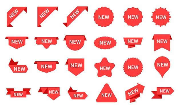 Nieuwe aankomst stickers set
