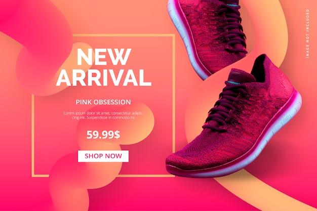 Nieuwe aankomstsjabloon voor uw online winkel