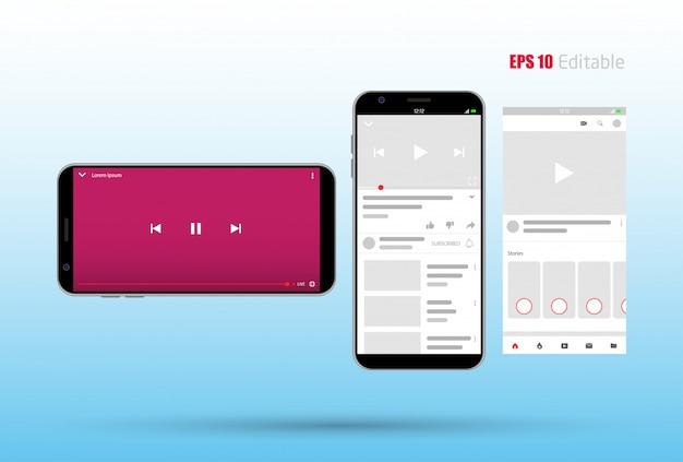 Nieuwe app sociale media mobiele app