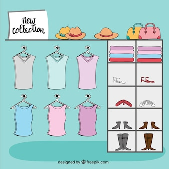 Nieuwe collectie closet