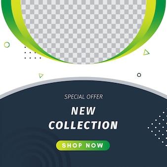 Nieuwe collectie instagram-post