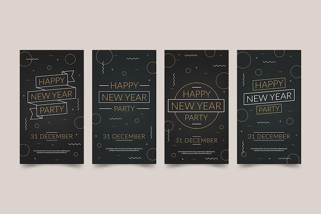 Nieuwe collectie verhaalcollecties instagram 2020 voor het nieuwe jaar