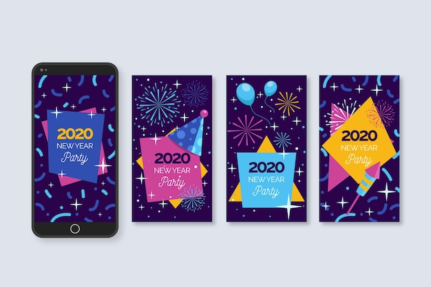 Nieuwe collectie verhaalcollecties instagram instagram voor het nieuwe jaar 2020