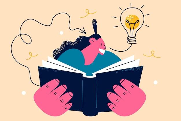 Nieuwe creatieve ideeën en innovatieconcept