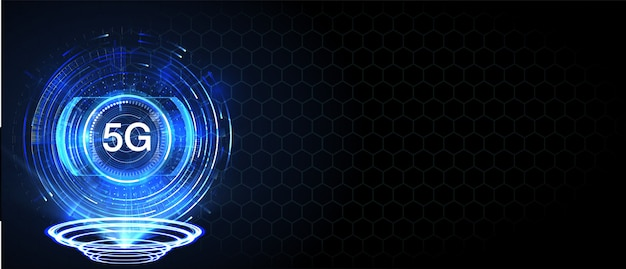 Nieuwe draadloze internet wifi-verbinding. big data binaire code stroomnummers.