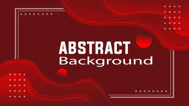 Nieuwe elegante gradiënt rode abstrack achtergrond