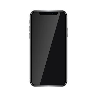Nieuwe generatie van smartphone met ronde randen