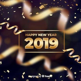 Nieuwe jaar 2019 banner