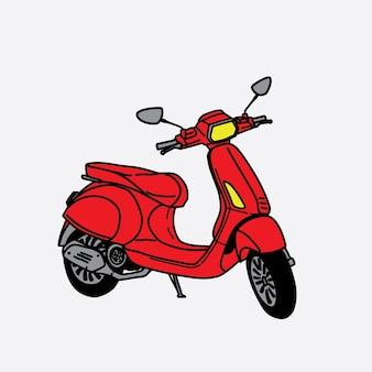 Nieuwe scooter