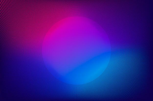 Nieuwe technologie gradiëntachtergrond met eenvoudig en duidelijk ontwerp. paarse neonkleurstijl