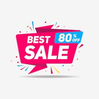 Nieuwe verkoop banner kleurrijke verloop