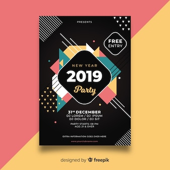 Nieuwjaar 2019 feestje