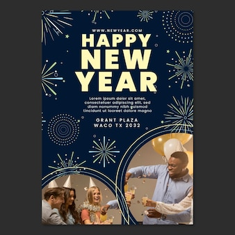 Nieuwjaar 2021 flyer a5 festival