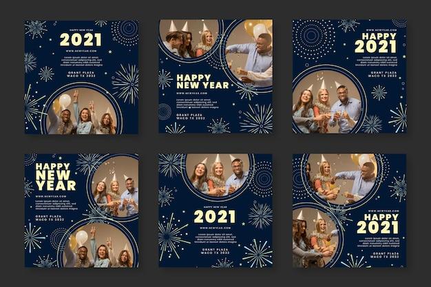 Nieuwjaar 2021 ig postcollectie