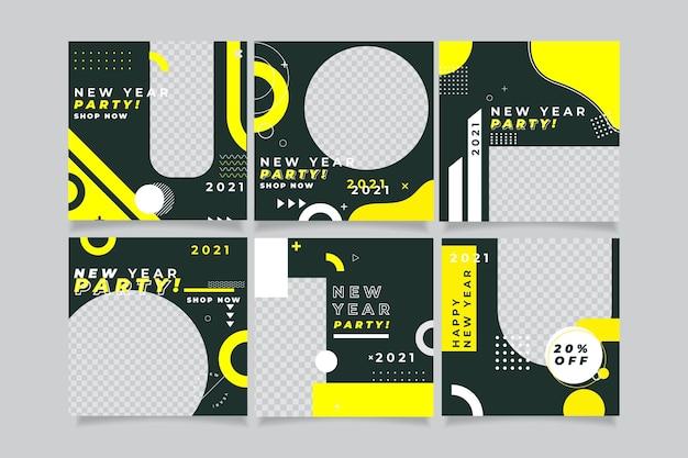 Nieuwjaar 2021 instagram postpakket