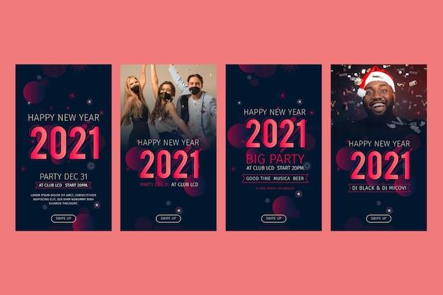 Nieuwjaar 2021 instagram-verhalencollectie