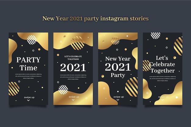 Nieuwjaar 2021 party instagram-verhalencollectie