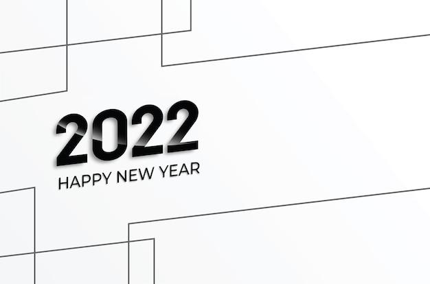 Nieuwjaar 2022 achtergrond vector