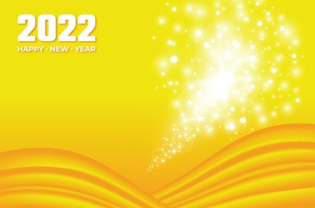 Nieuwjaar 2022 achtergrondontwerp