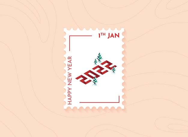 Nieuwjaar 2022 postzegels