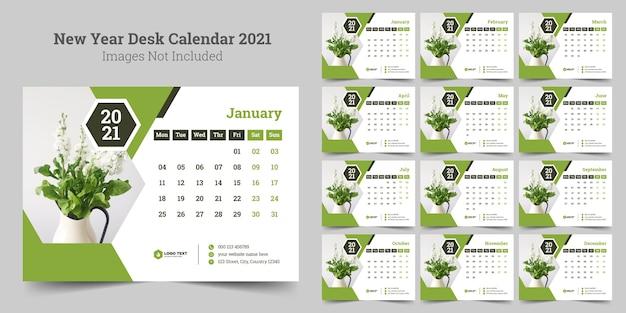 Nieuwjaar bureaukalender