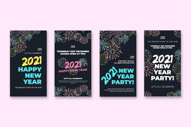 Nieuwjaar instagram verhalencollectie