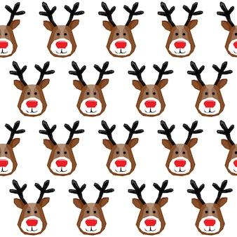 Nieuwjaar of kerstmis inpakpapier of stof textiel staalnaadloze patroon achtergrond