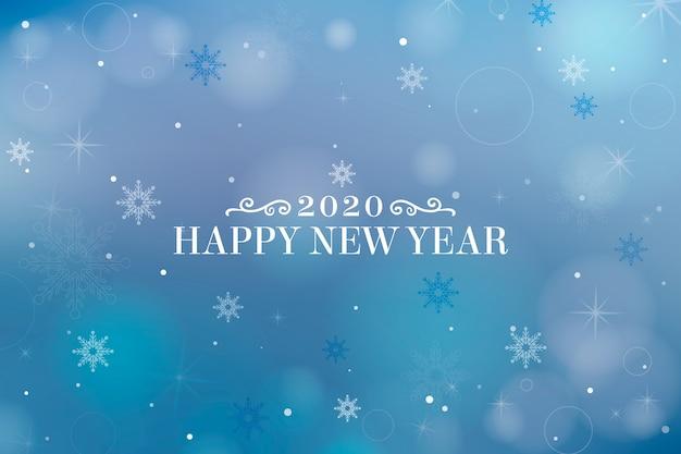 Nieuwjaar vage achtergrond