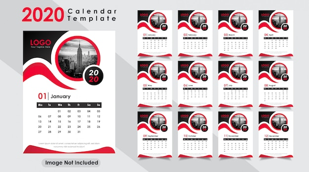 Nieuwjaars kalender 2020