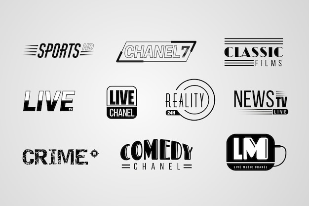 Nieuws logo collectie