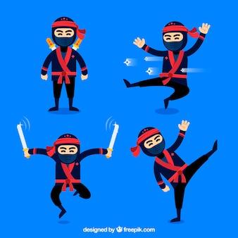 Ninja karakterverzameling