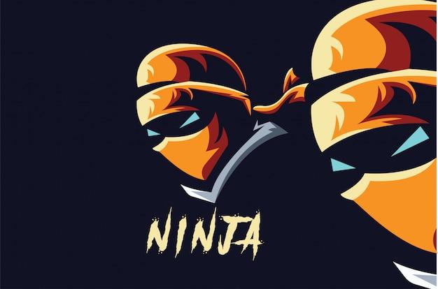 Ninja logo sport