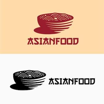 Noedels aziatisch eten