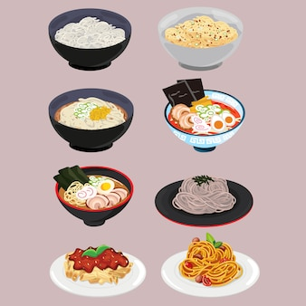 Noodle and pasta set