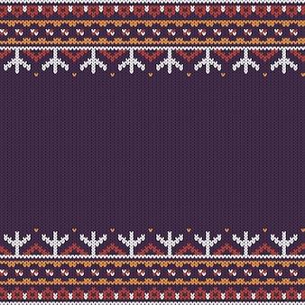 Noordelijk gebreid patroon