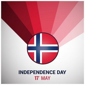 Noorwegen achtergrond van de dag