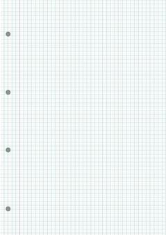 Notebook gerasterde bladachtergrond