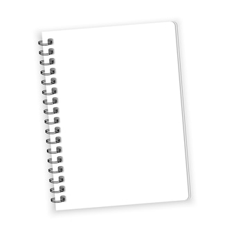 Notebook papier vector