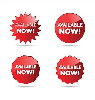 Nu verkrijgbaar stickers en tags collectie