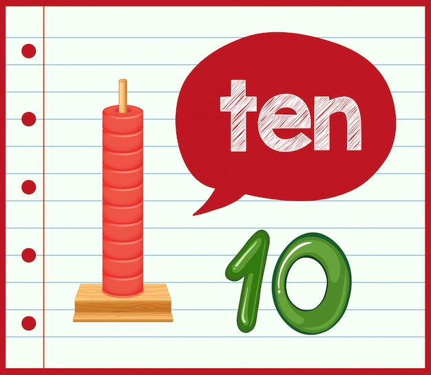 Nummer 10 concept poster