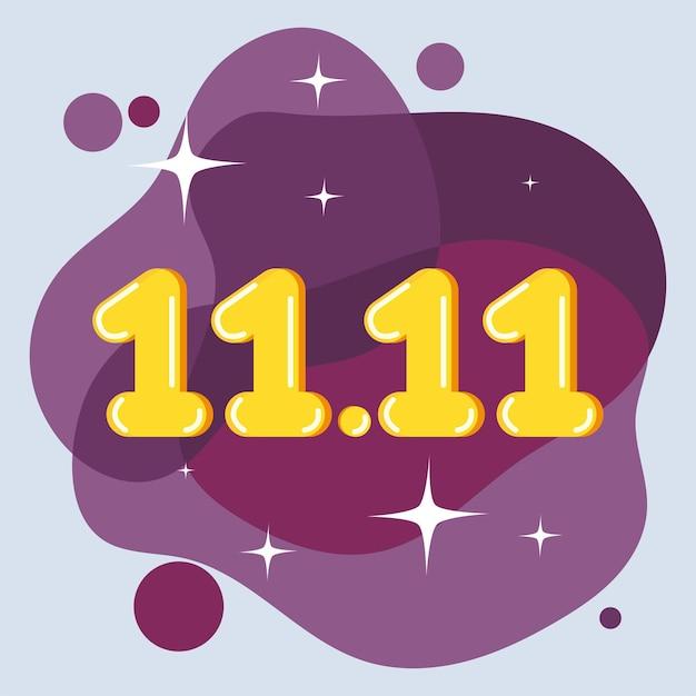 Nummers illustratie ontwerp