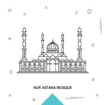 Nur astana moskee