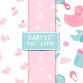 Nursery patroon ingesteld