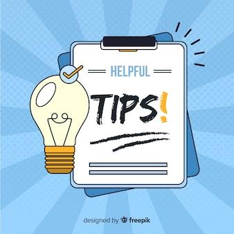 Nuttige tips op het klembord