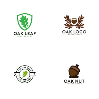 Oak logo collection