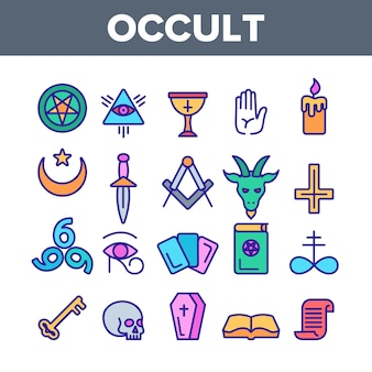Occulte, demonische entiteitsbeelden